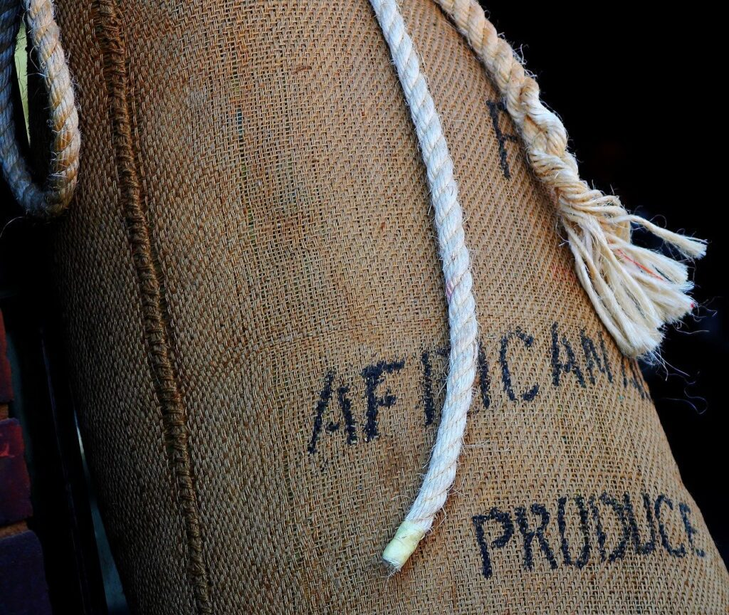 african produce, coffee, import
